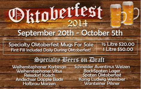 Oktoberfest at Palmer Legends 2014